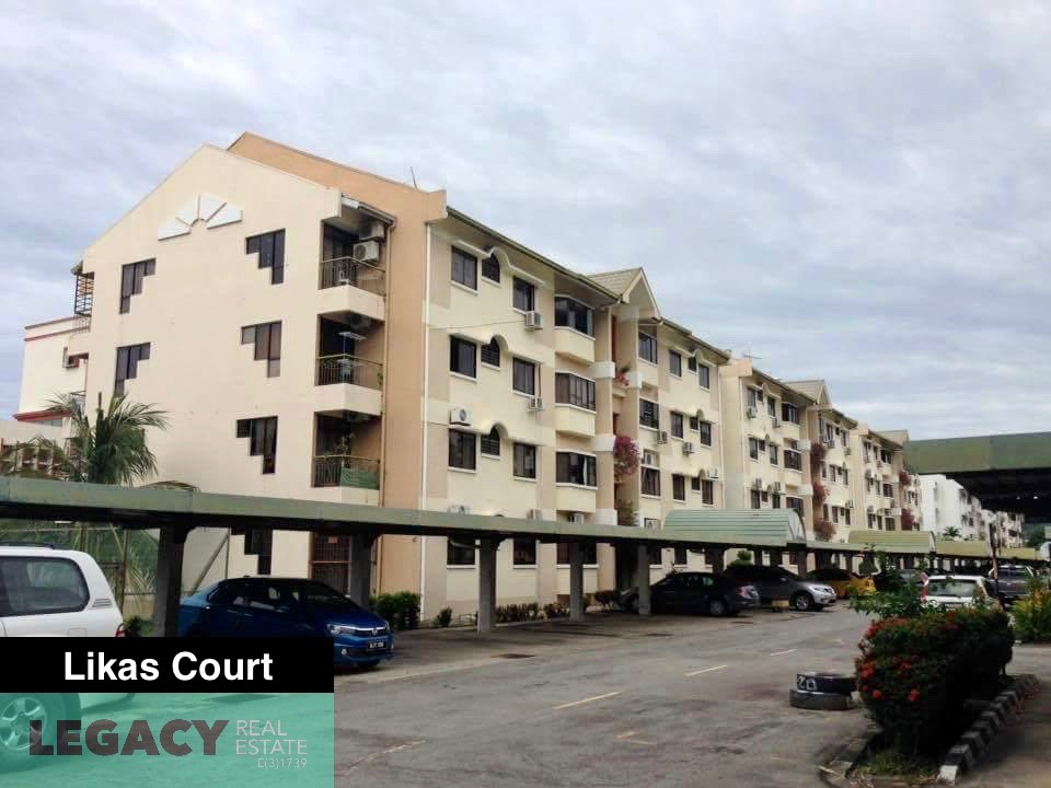 Likas Court | 2nd Floor | Corner Unit