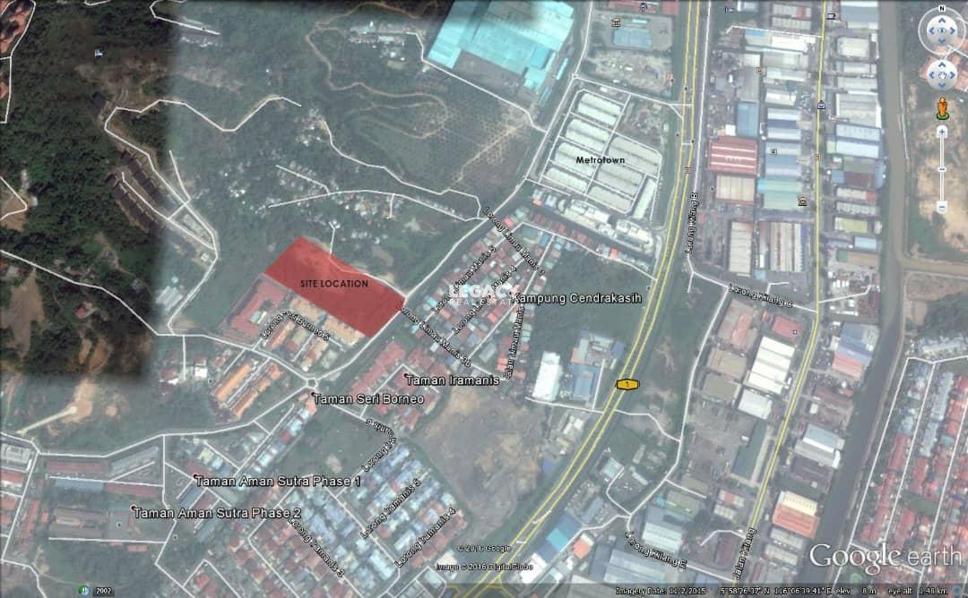 Land Behind Metro Town