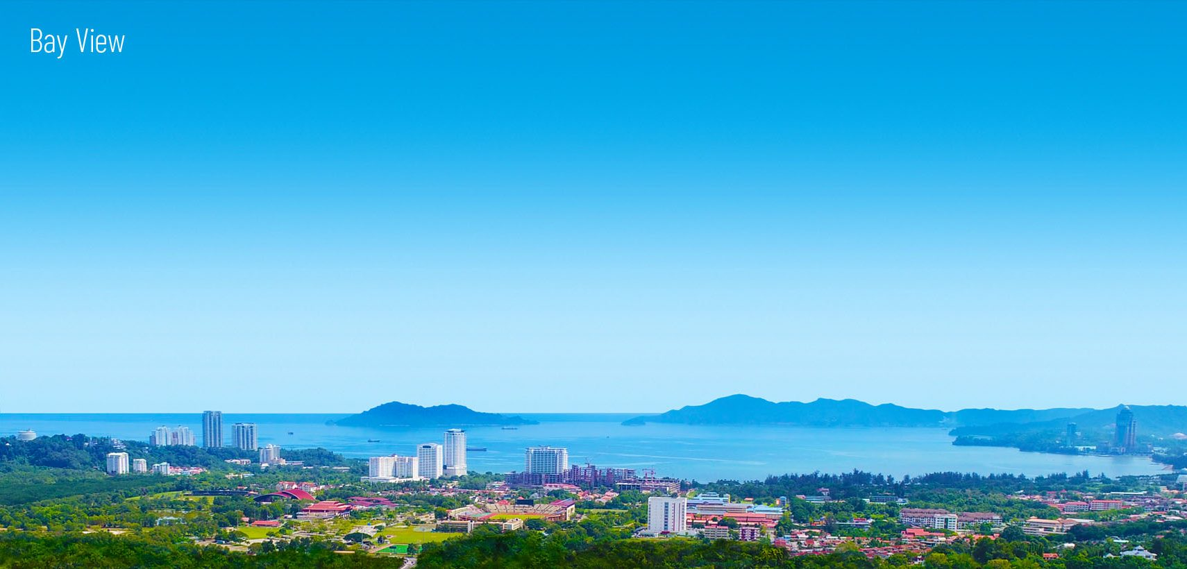 Breathtaking Views of Golf Course, Sunset, The Bay & Mount Kinabalu