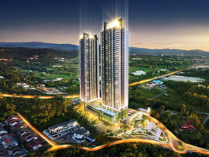 Jesselton Twin Tower