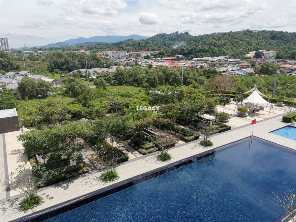 The Gardens Condo | Bundusan | Level 10 | Corner