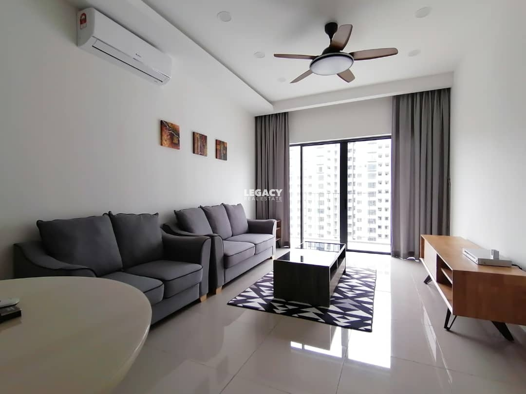 Kingfisher Inanam Condominium   20th Floor   Fully Furnished