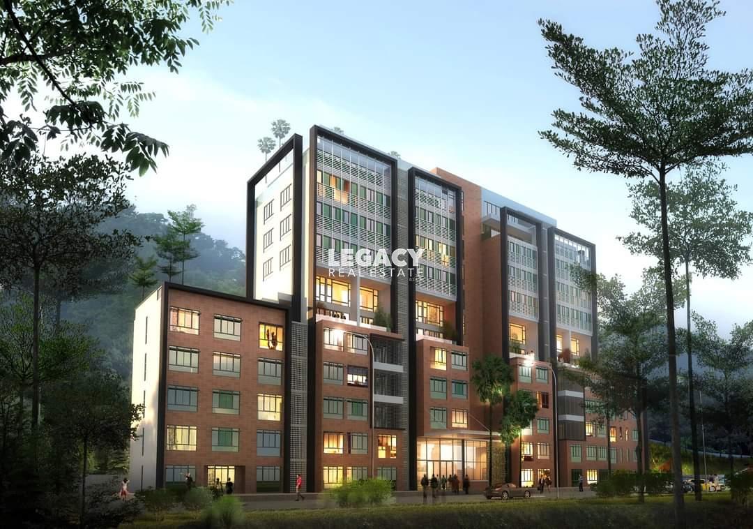 Jesselton View Condominium   Hilltop   High Floor with Sunset View